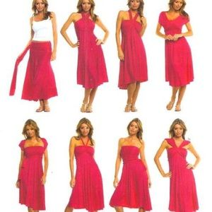 Elan 8-way convertible dress